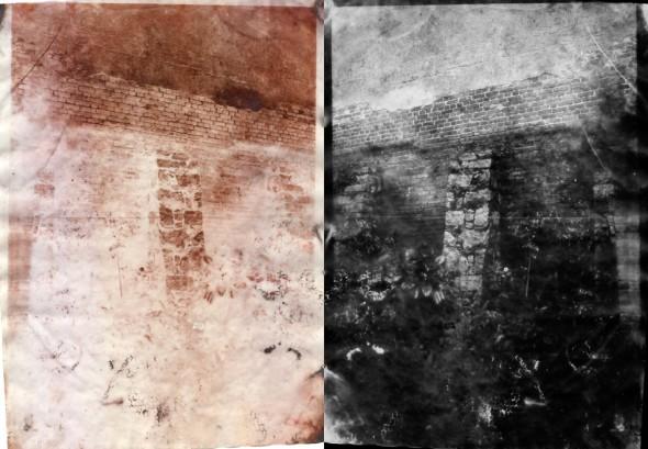 De Kátia Magri. (Esquerda: calótipo / Direita: inversão digital)